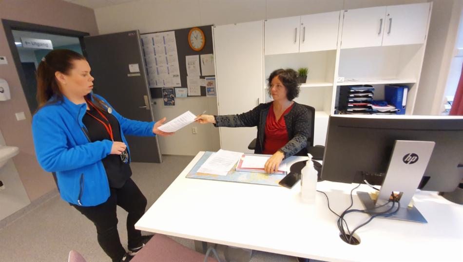 Smittesporere ved Smittevernkontoret ber aldri om betalingsinformasjon Bilde: Endre Hovland